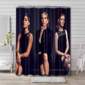 The Good Fight Shower Curtain Waterproof Polyester Fabric