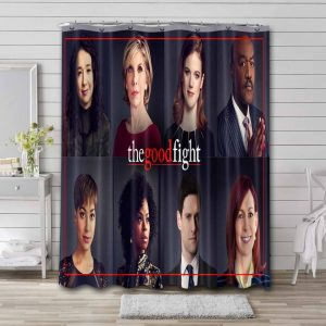 The Good Fight Shower Curtain