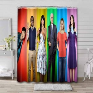 The Good Place Shower Curtain Bathroom Waterproof