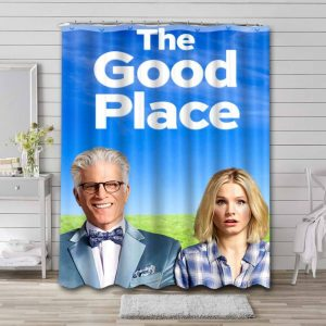 The Good Place Shower Curtain