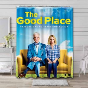The Good Place Shower Curtain Waterproof Polyester Fabric