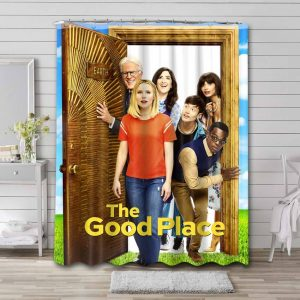 The Good Place Bathroom Shower Curtain Waterproof