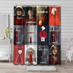 The Handmaid's Tale Shower Curtain Waterproof Polyester Fabric