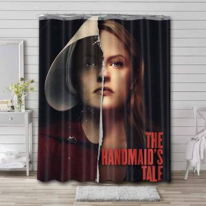 The Handmaid's Tale TV Series Shower Curtain Waterproof Polyester Fabric