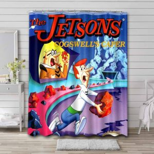 The Jetsons Cogswell's Caper  Bathroom Shower Curtain Waterproof