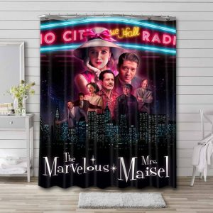 The Marvelous Mrs Maisel Shower Curtain Waterproof