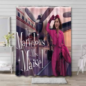 The Marvelous Mrs Maisel TV Series Shower Curtain Waterproof