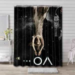 The OA TV Show Shower Curtain Waterproof Polyester Fabric