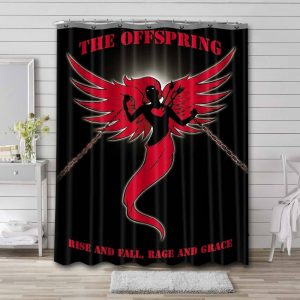 The Offspring Rise and Fall Rage and Grace Shower Curtain Bathroom Decoration