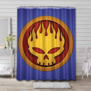 The Offspring Shower Curtain