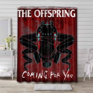 The Offspring Coming For You Bathroom Curtain Shower Waterproof