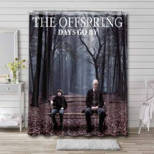 The Offspring Days Go By Shower Curtain Bathroom Waterproof