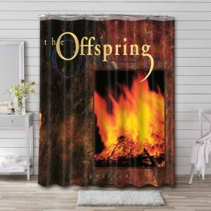 The Offspring Ignition Shower Curtain Bathroom Decoration