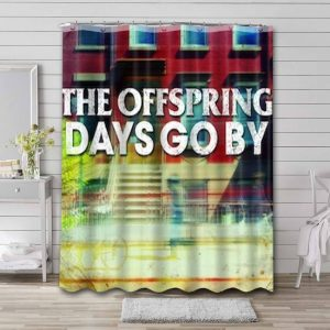 The Offspring Days Go By Waterproof Bathroom Shower Curtain