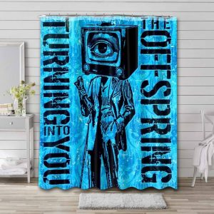 The Offspring Turning into You Bathroom Curtain Shower Waterproof
