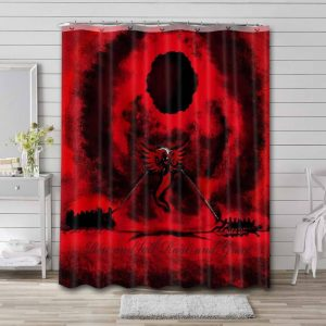 The Offspring Rise and Fall Rage and Grace Bathroom Shower Curtain Waterproof
