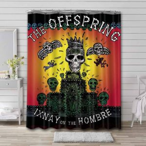 The Offspring Ixnay on the Hombre Waterproof Bathroom Shower Curtain