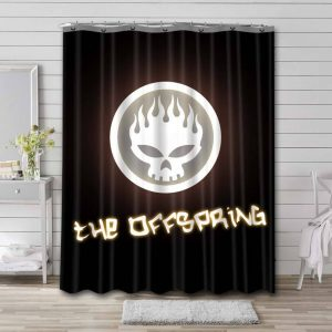 The Offspring Conspiracy of One Waterproof Curtain Bathroom Shower
