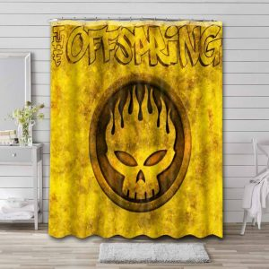 The Offspring Conspiracy of One Shower Curtain Bathroom Waterproof