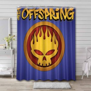 The Offspring Conspiracy of One Shower Curtain Bathroom Decoration