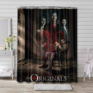 The Originals Shower Curtain Waterproof Polyester Fabric