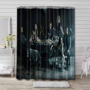 The Originals TV Show Shower Curtain Waterproof Polyester Fabric