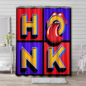 The Rolling Stones Honk Shower Curtain Waterproof Polyester
