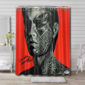 The Rolling Stones Tattoo You Waterproof Curtain Bathroom Shower