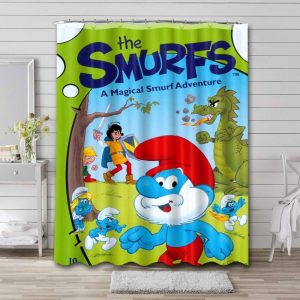 The Smurfs Shower Curtain