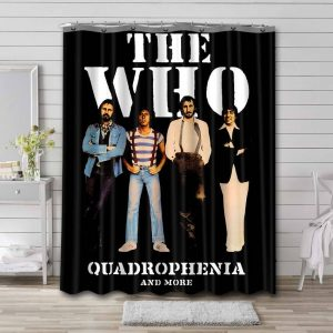 The Who Quadrophenia Shower Curtain Waterproof Polyester