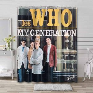 The Who My Generation Waterproof Bathroom Shower Curtain