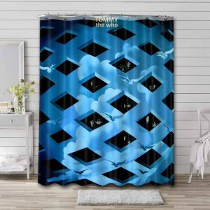 The Who Tommy Bathroom Curtain Shower Waterproof