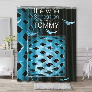 The Who Tommy Waterproof Curtain Bathroom Shower