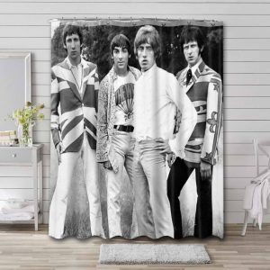 The Who Shower Curtain Waterproof Polyester