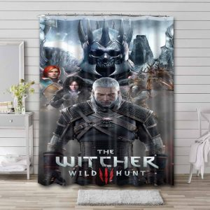 The Witcher Bathroom Shower Curtain Waterproof