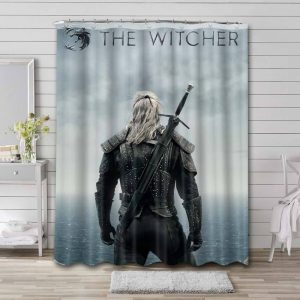 The Witcher Series Bathroom Shower Curtain Waterproof