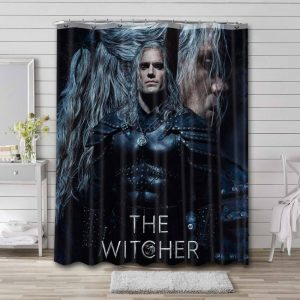 The Witcher Show Waterproof Shower Curtain Bathroom Decor