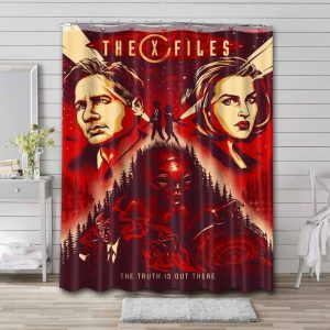 The X-Files Shower Curtain Waterproof Polyester Fabric