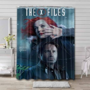 The X-Files Show Shower Curtain Waterproof Polyester Fabric