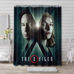 The X-Files Shower Curtain
