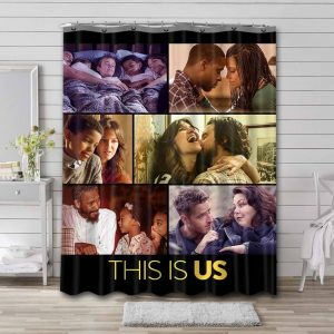 This Is Us TV Series Shower Curtain Bathroom Decoration