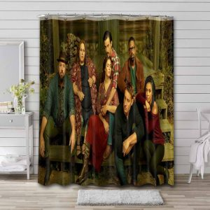This Is Us Shower Curtain Bathroom Decoration