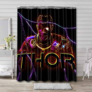 Thor Shower Curtain Waterproof Polyester