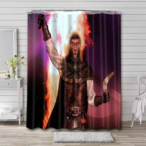 Tigtone Shower Curtain Waterproof Polyester