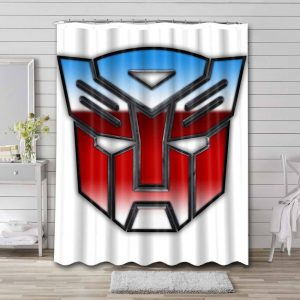 Transformers Autobots Shower Curtain Waterproof Polyester