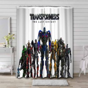 Transformers The Last Knight Shower Curtain Waterproof Polyester