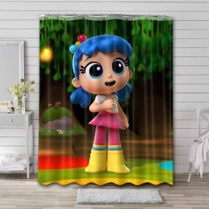 True and the Rainbow Kingdom Shower Curtain Waterproof Polyester