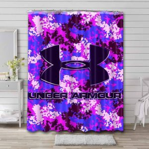 Under Armour Shower Curtain Waterproof Polyester