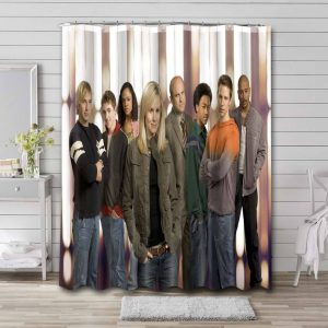 Veronica Mars Characters Shower Curtain Waterproof Polyester Fabric