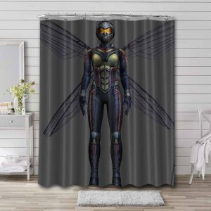 Wasp Avengers Shower Curtain Waterproof Polyester